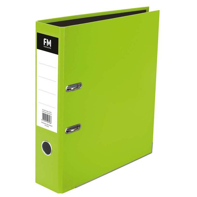 FM Binder Vivid Lime Green A4 Lever Arch - Office Connect