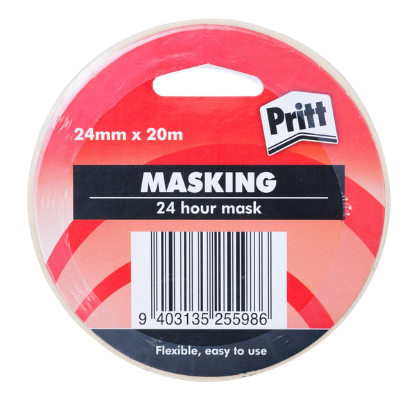 Pritt Masking Tape P1807024 24mmx20m - Office Connect