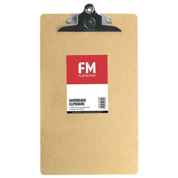 FM Clipboard Hardboard Foolscap - Office Connect
