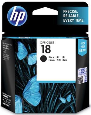 HP 18 Black Ink Cartridge - Office Connect