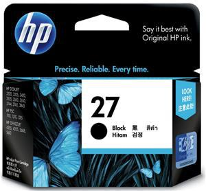HP 27 Black Ink Cartridge - Office Connect