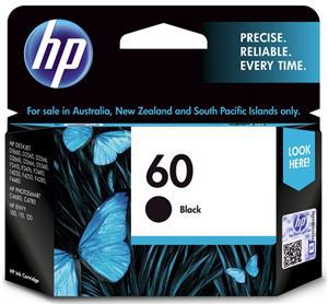 HP 60 Black Ink Cartridge - Office Connect