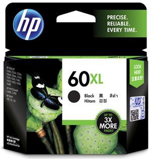 HP 60XL High Yield Black Ink Cartridge - Office Connect
