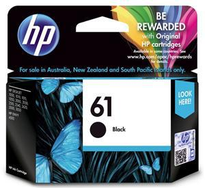 HP 61 Black Ink Cartridge - Office Connect