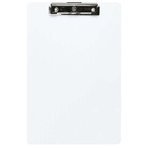 FM Clipboard Clear Transparent Plastic Foolscap - Office Connect