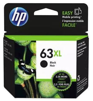 HP 63XL Black High Yield Ink Cartridge - Office Connect