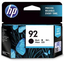 HP 92 Black Ink Cartridge - Office Connect