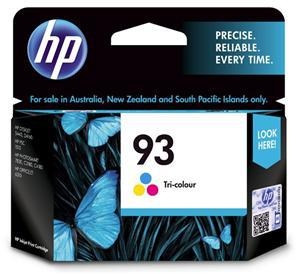 HP 93 Tri-Colour Ink Cartridge - Office Connect