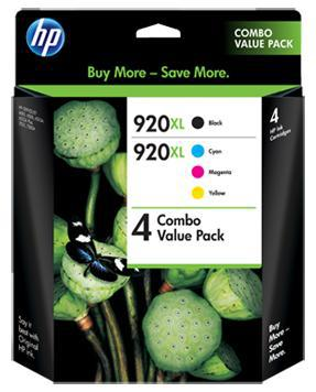 HP 920XL CMYK High Yield 4 Ink Cartridge Pack - Office Connect