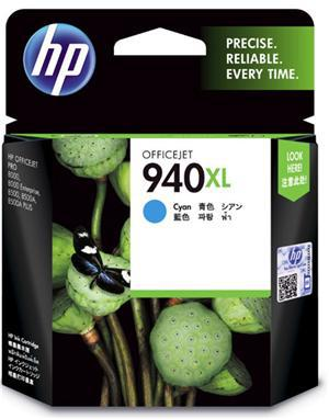 HP 940XL Cyan High Yield Ink Cartridge - Office Connect