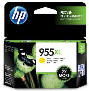 HP 955XL Yellow High Yield Ink Cartridge - Office Connect
