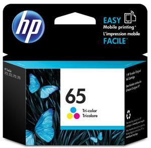 HP 65 Tri-Colour Ink Cartridge - Office Connect