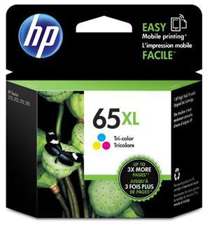 HP 65XL Tri-Colour High Yield Ink Cartridge - Office Connect