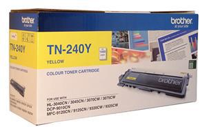 Brother TN-240Y Yellow Toner - Office Connect