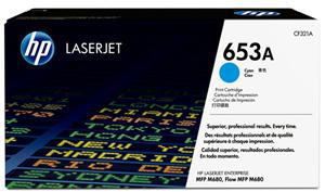 HP 653A Cyan Toner Cartridge - Office Connect