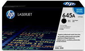 HP 645A Black Toner Cartridge - Office Connect