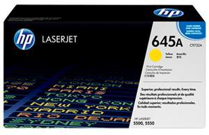 HP 645A Yellow Toner Cartridge - Office Connect