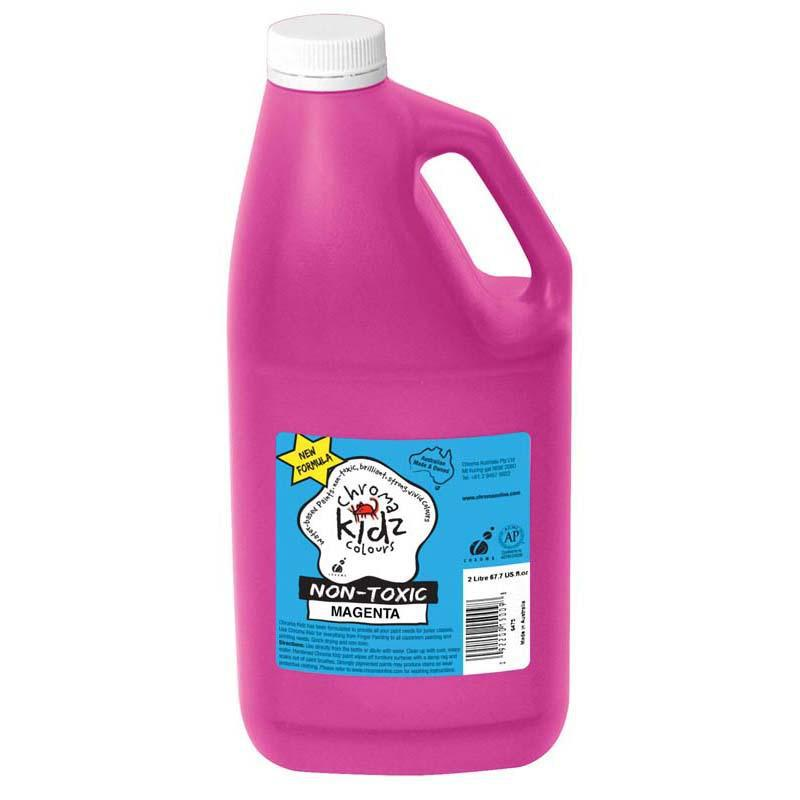 Chroma Kidz 2 Litre Magenta - Office Connect