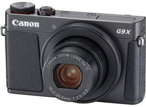 Canon PowerShot G9 X Mark II Digital Camera Black - Office Connect