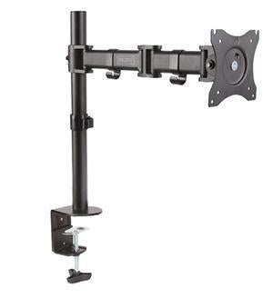 "Digitus 15-27"" Single Monitor Stand with Clamp Base - Office Connect"