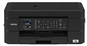 Brother MFCJ491DW 12/6ipm Colour Inkjet MFC Printer WiFi - Office Connect