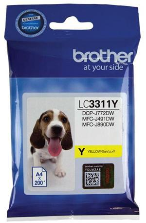 Brother LC3311Y Yellow Ink Cartridge - Office Connect