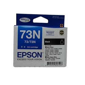 Epson 73N Black Ink Cartridge - Office Connect