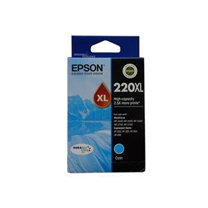 Epson 220XL Cyan High Yield Ink Cartridge - Office Connect