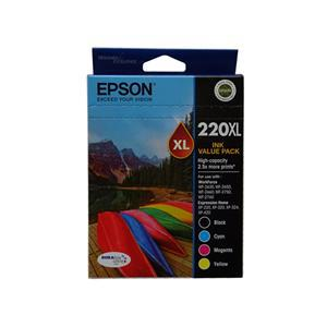 Epson 220XL 4 Ink High Yield Ink Cartridge Value Pack - Office Connect