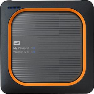 WD My Passport Wireless 500GB SSD USB 3.0 External - Office Connect