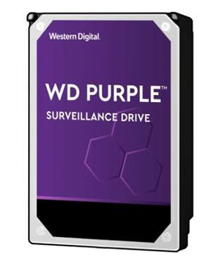 "WD Purple SATA 3.5"" 7200RPM 256MB 10TB Surveillance HDD 3Yr Wty - Office Connect"