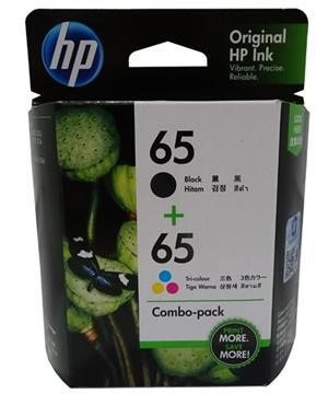 HP 65 Black & Tri Colour Ink Pack - Office Connect