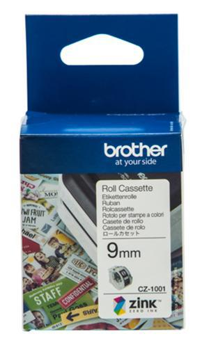 Brother CZ-1001 9mm Printable Roll Cassette - Office Connect