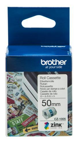 Brother CZ-1005 50mm Printable Roll Cassette - Office Connect