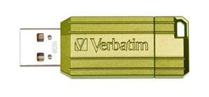 Verbatim Store'n'Go Pinstripe USB2.0 Flash Drive 16GB Green - Office Connect