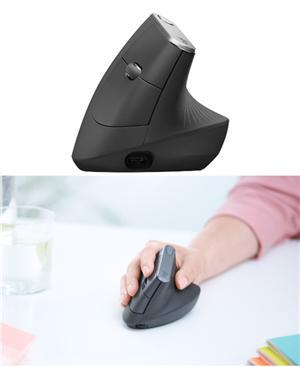 Logitech MX Vertical Advanced Ergonomic Mouse - Office Connect