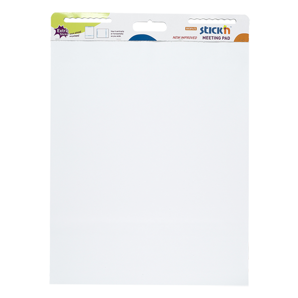 Stick'n Meeting Pad White 796x635mm 30 Sheets - Office Connect