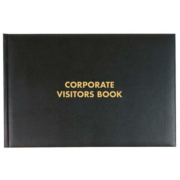 Milford Visitors Book Corporate 205x300mm 192 Page - Office Connect