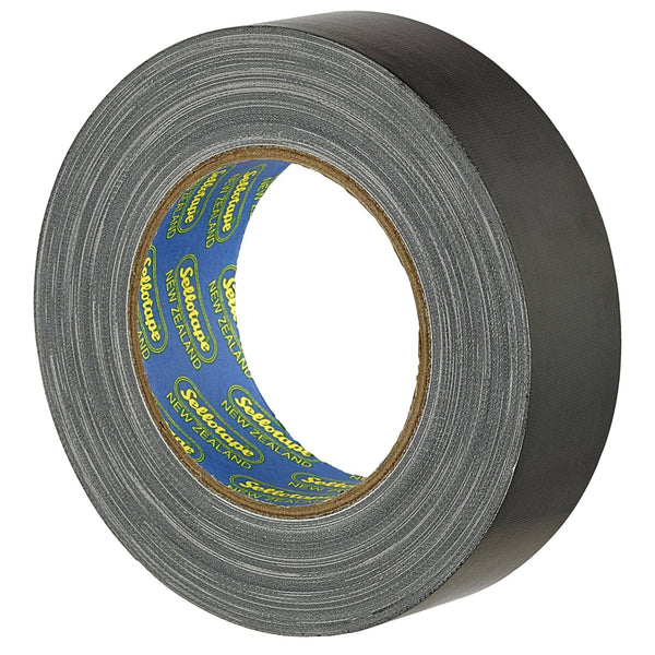 Sellotape 4705BL Cloth Black 36mmx30m - Office Connect