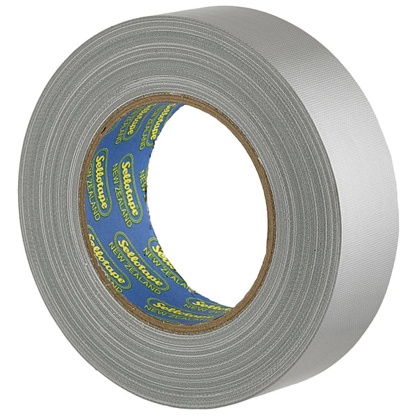 Sellotape 4705S Cloth Silver 36mmx30m - Office Connect