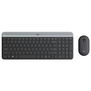 Logitech MK470 Slim Wireless Desktop Kit Black - Office Connect