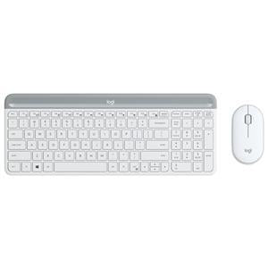 Logitech MK470 Slim W/L Desktop Kit - White - Office Connect