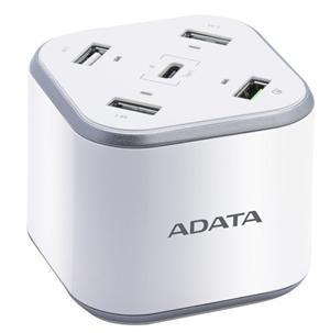 Adata 5 Port USB Charging Station with Qualcomm Quick Charge (48w max) - Office Connect