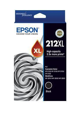 Epson 212XL Black High Yield Ink Cartridge - Office Connect