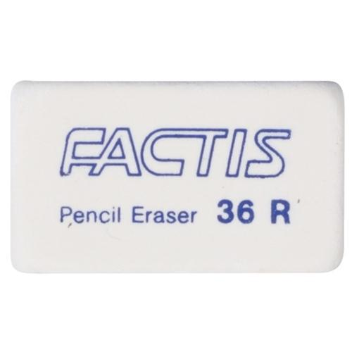 Factis Erasers 36R Soft White - Office Connect