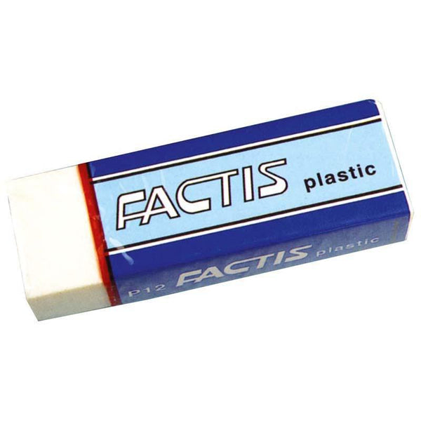Factis Erasers P12 Soft White Plastic - Office Connect
