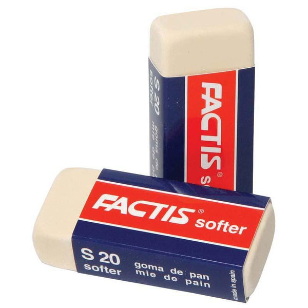 Factis Erasers S20 Soft White - Office Connect
