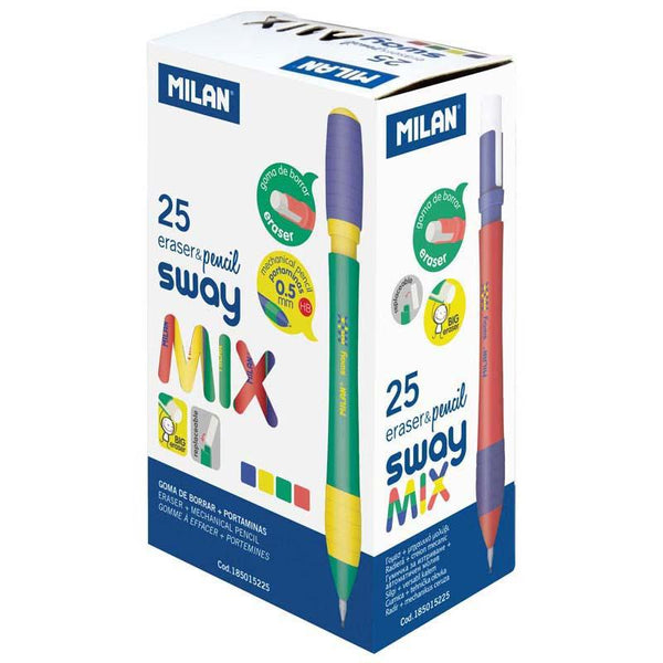 Milan Mix Range Mechanical HB Pencils - Office Connect