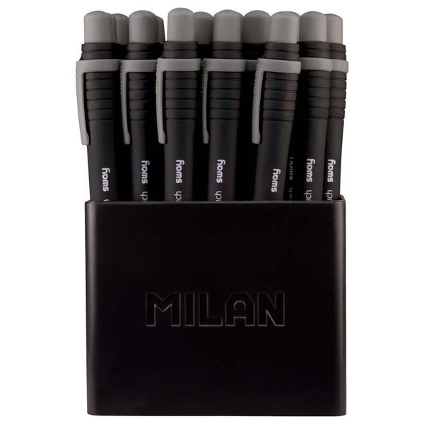 Milan Sway Finetouch Ballpoint Pens Black - Office Connect