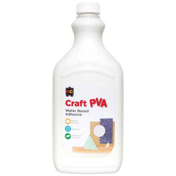 EC Pva Glue Craft Waterbased 2l - Office Connect